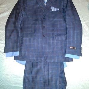 Boys three piece suit with shirt and tie